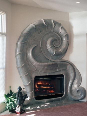 nautilus fireplace